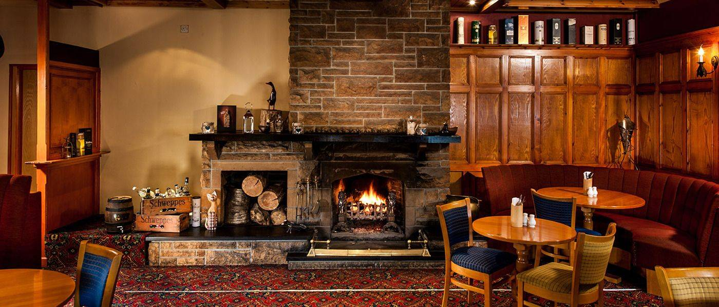 The Stronlossit Inn - one of the great restaurants and bars in Lochaber, open all day all year